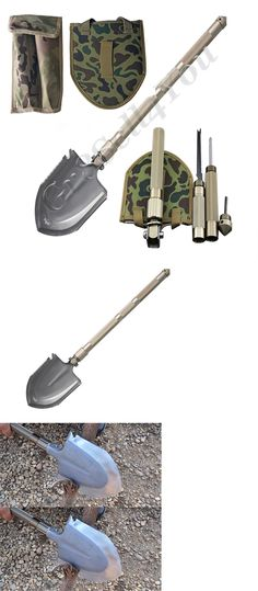 Camping Shovels 75233: Tactical Camping Military Army Entrenching Folding Survival Shovel Trench Spade -> BUY IT NOW ONLY: $36.15 on eBay!