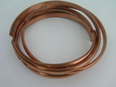 Vintage Copper Bracelets / Bangle Bracelets / Solid Copper Bracelets / Multiple Bangles / Copper Jewelry / Solid Copper Jewelry / Free Ship! by TamJewelryandUniques on Etsy
