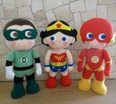 Heróis em feltro