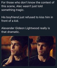 She was in the next room over with the door closed, falling asleep, and Magnus denied the kiss. Shadowhunters Series, Shadowhunters The Mortal Instruments, Alec Lightwood, Cassandra Clare Books, Matthew Daddario, Clace, The Dark Artifices, City Of Bones, Vampire Diaries