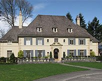 French Eclectic An Example Of The Towered Subtype This