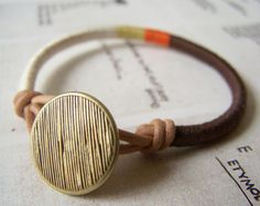 Leather Wrapped Cord : Best cord wrapped jewelry images