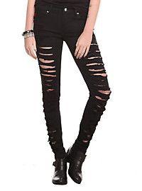 http://www.hottopic.com/hottopic/Girls/Leggings/Black Velvet Front Lace-Up Leggings-10350221.jsp