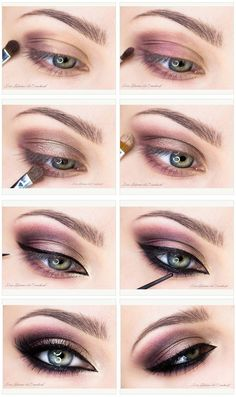 Champagne And Purple Eyeshadow Tutorial