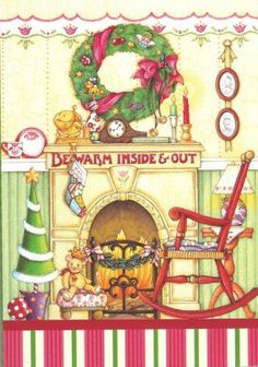 Mary-Engelbreit-Be-Warm-Inside-Out-Rocking-Chair-with-Christmas-Stockings-Hu