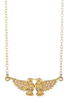<3 lovebirds necklace