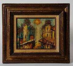 Vintage Fall City Oil Palette Impasto Painting Vintage Fall City Oil Palette Impasto lbs heavy duty good quality in x 17 inSigned KentVery good condition Fall City, Vintage Fall, Art Auction, Palette, Oil, Painting, Pallet, Painting Art, Pallets