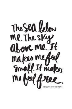 @BillabongWomens  It makes me feel free..