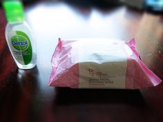 Baby wipes and hand sanitizer, VERY useful at any time! ;) To read the complete guide click on the photo