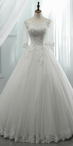 Wedding Dresses, Bridal Gowns, Wedding Gowns for your Inspiration - US Wedding Dresses Disney Princess Dresses, Princess Wedding Dresses, Modest Wedding Dresses, Bridal Dresses Online, Bridal Gowns, Beautiful Wedding Gowns, Ball Dresses, Outfit, Wedding Ceremony