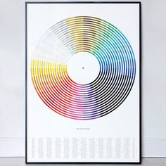Colour Of Song Print, 32€, now featured on Fab.