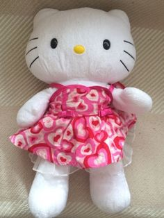 #Build a bear #hello #kitty and a dress,  View more on the LINK: 	http://www.zeppy.io/product/gb/2/252662915855/