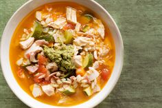 20 Of the Best Ideas for Chicken Minestrone soup - Best Recipes Ever Soup Recipes, Cooking Recipes, Healthy Recipes, Recipies, Healthy Meals, Chicken Recipes, Chicken Minestrone Soup Recipe, Winter Soups, Best Food Ever