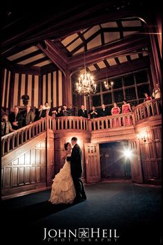 Hatley Castle in Victoria BC (offers wedding packages)
