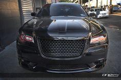 black 2014 Chrysler 300 SRT8   Modified Photos