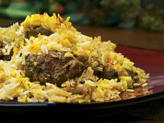 Trying this slow cooker Lamb Biryani tomorrow. Meat is marinating!