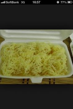 Pichi Pichi with Cheese