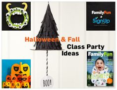 Free eBook: Halloween & Fall Class Party Ideas for Kids - craft, snack and activity ideas for a great kids party! Easy Halloween, Halloween Crafts, Halloween Party, Owl Cookies, Crafty Kids, Autumn Theme, Craft Party, Free Ebooks, Crafts For Kids