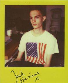 Jack Harrison at Models 1. Instant Analogue by Cecilie Harris. Special thanks to Impossible.