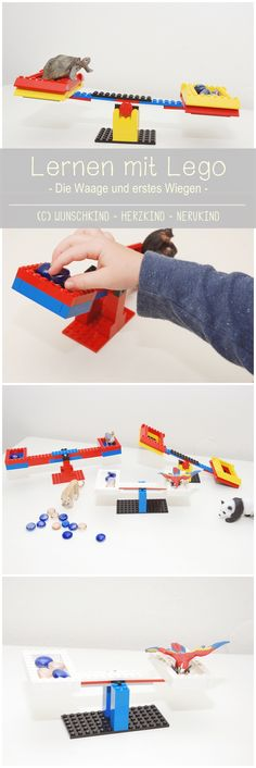 Lernen mit Lego! Ich zeige euch, wie wir mit Lego eine einfache Waage gebaut haben. Schon das Aufbauen, die Überlegungen der Funktionsweise und das damit verbundene räumliche Denken eine große Lern-Aufgabe. Beim Wiegen werden Begrifflichkeiten, wie schwerer und leichter erlernt und erste Tabellen können die Wiegeergebnisse dokumentieren.