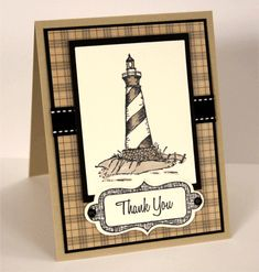 "A Card featuring the stamp set ""By the Sea."" Click the project photo to watch the video."