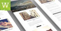 WordPress Blog Theme  Classic And Minimal WordPress by wordica