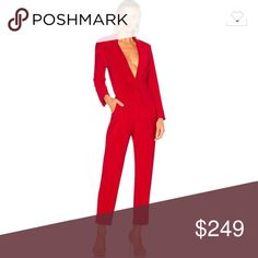 d9cc007a4f341 Norma Kamari Red jumpsuit size 6 never worn Brand new with tags Normal  Kamari red jumpsuit