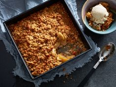 There's nothing more perfect on a brisk fall day than a batch of classic apple crisp - just like Grandma used to make! Give it a try today.