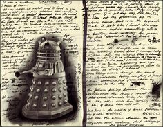 All Hail the Daleks by naturalshocks on DeviantArt I Am The Doctor, Tenth Doctor, Arte Doctor Who, Christopher Eccleston, Balance Board, Don't Blink, Dalek, Torchwood, Geronimo