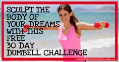 FREE 30 Day Dumbell Challenge