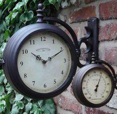 Outdoor Clocks By Dans Clocks Outdoor Clock Garden Clocks Outdoor Wall Clocks