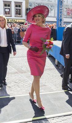 24 juni 2014 - Máxima Style File - Vogue Nederland
