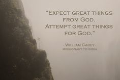 What will you attempt for God today?