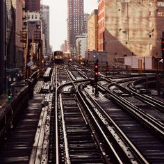 Urban Landscapes of Chicago by Angie McMonigal #inspiration #photography
