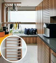 Uma solução para quem mora em apartamentos e precisa de mais espaço para secar suas roupas!  . . . #apartamento #apartamentos #moroemapartamento #dicasparaapartamento #espaçospequenos #dicas #ideias #soluções #roupa #lavanderia #areadeserviço #varanda #homedesign #design #ideiasinteligentes #projetodeinteriores