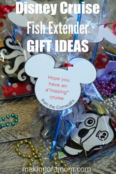 Disney Cruise Fish Extender Gift Ideas including #OrientalTrading items.