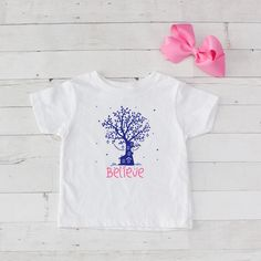 Believe Tree Graphic T-Shirt