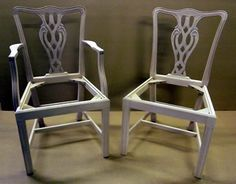 Ribbon Back Dining Chair Frames