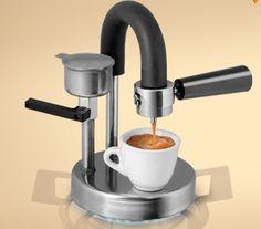 Kaffeezubereitung mit der Kamira