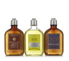 L'Occitane 3 Piece Men's Shower Gel Collection