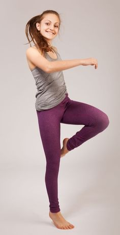 made of stretchy and moisture wicking Luon, there's nothing this pant can't do. | Rhythmic Tight