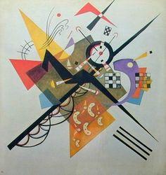 抽象絵画の元祖・カンディンスキー:トラネコ日記