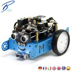 Makeblock Mbot Programmable Kids Toys Educational birthday Gift Scratch 2.0 Arduino DIY Smart Robot Car Kit(Bluetooth Version)