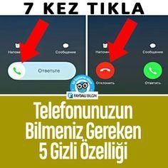 Telefonunuzun Bilmeniz Gereken 5 Gizli Özelliği #telefon #teknoloji @faydalibilgin