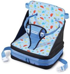 A fold-up booster seat is a life saver! Sometimes highchairs and boosters are so dirty at restaurants!