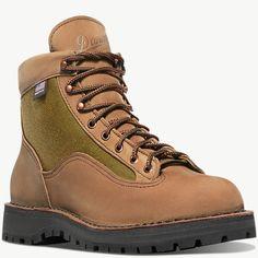Danner - Danner Light II Dark Brown Gore Tex Hiking Boots, Waterproof Liner, Ankle Boots Men, Wide Feet, Wet And Dry, Snug Fit, Heels, Leather, Backpacking