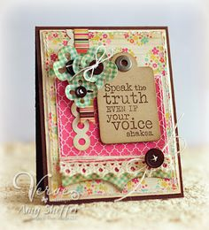 Another great card from Pickled Paper Designs!