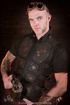 Mechanical Warrior Vest Steampunk Weste