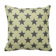 stars pattern pillows
