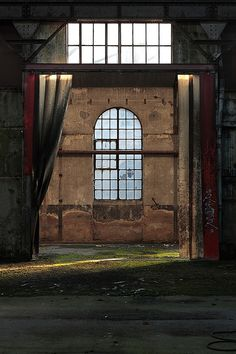 An abandoned factory in France, by Le Luxographe